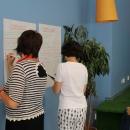 Osalejad kirjutavad oma ootusi järgenavks kaheks koolituspäevaks
