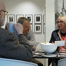 The Centre for Documentary Photography: We engage and inspire elderly people through meetings and training events dedicated to photography