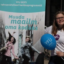 "YFU Estonia scholarship fund ""Door to the World"" – for a more tolerant Estonia!"