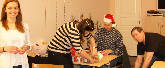 Tule lastega tegelema üksikvanemaga perede laste jõulupeole!