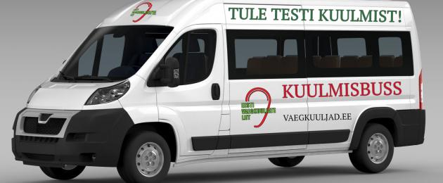 Eesti Vaegkuuljate Liit: toeta kuulmisbussi aparatuuri soetamist
