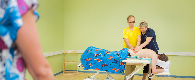 "Estonian Blind Masseurs Association: ""Help the visually impaired acquire the profession of a masseur and start working independently!"""